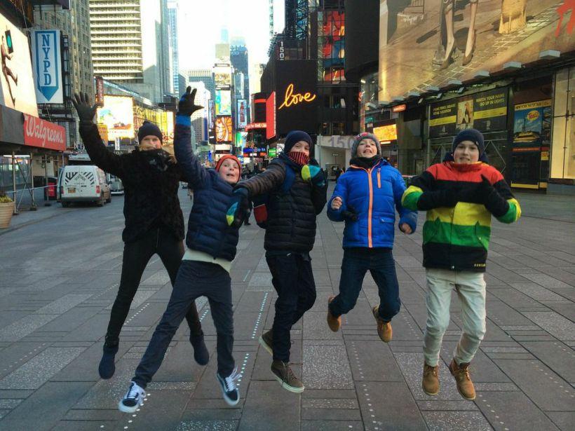 New York! New York!  Kaldt og utrolig kult.