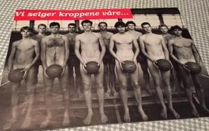 Forsiden var spennende nok – antydning om prostitusjon, nakne unge menn...