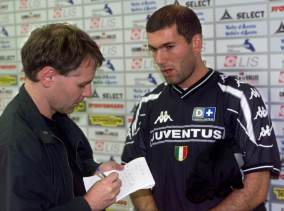 To store, Arild og Zidane.