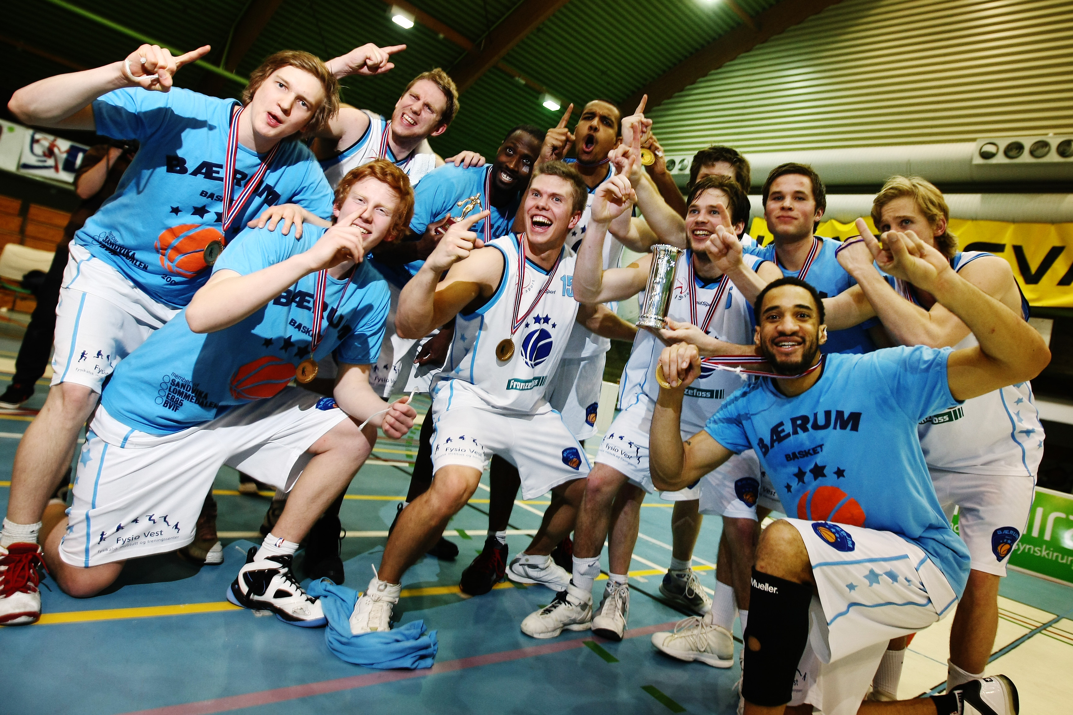 Finalen - Storm vs Bærum Basket
